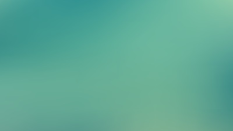 Turquoise Blurred Background