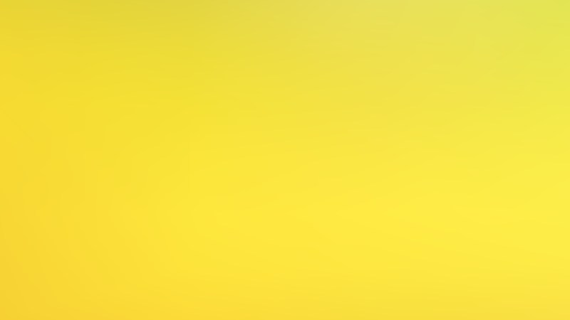 Yellow PowerPoint Background Graphic