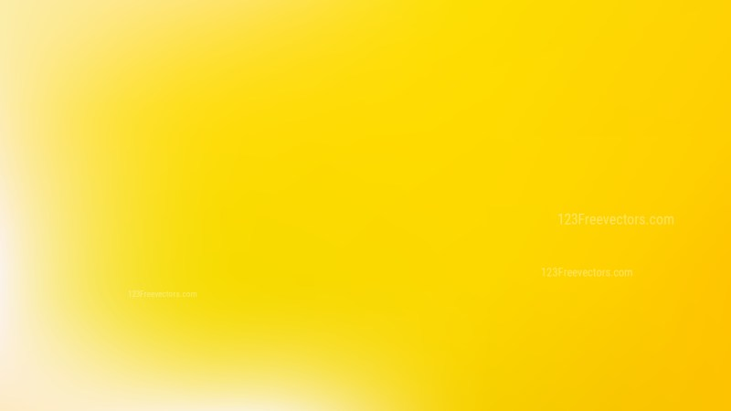 Yellow Blank background