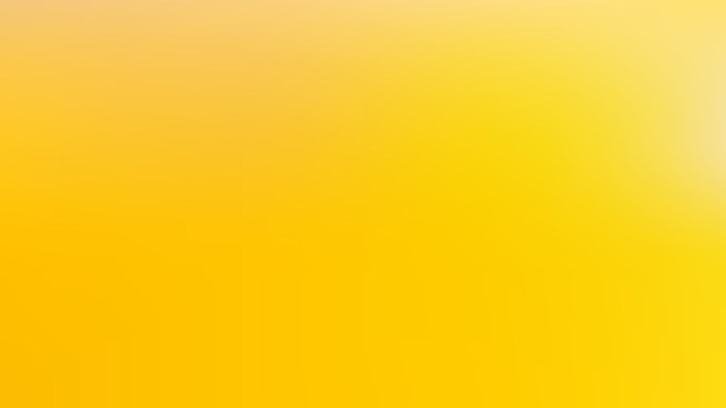 Yellow Blurred Background Vector Image
