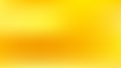 Yellow Blurry Background Vector Illustration