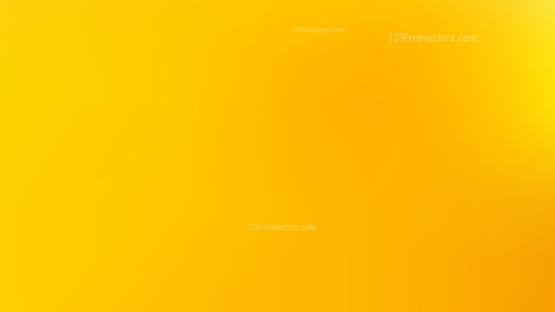 Yellow PPT Background Vector Art