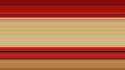 Beige and Red Horizontal Stripes Background Illustrator