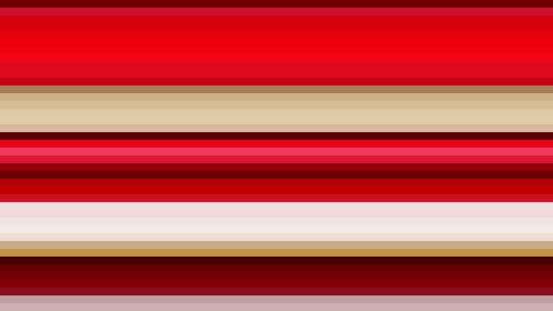 Beige and Red Horizontal Stripes Background