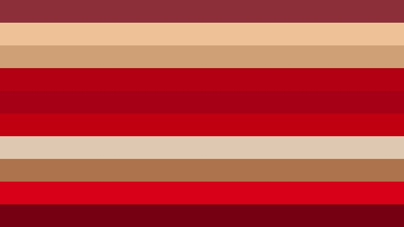 Beige and Red Stripes Background Vector Art