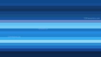 Black and Blue Horizontal Striped Background Vector Illustration