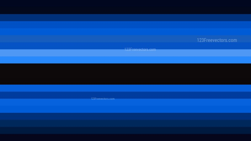 Cool Blue Horizontal Striped Background