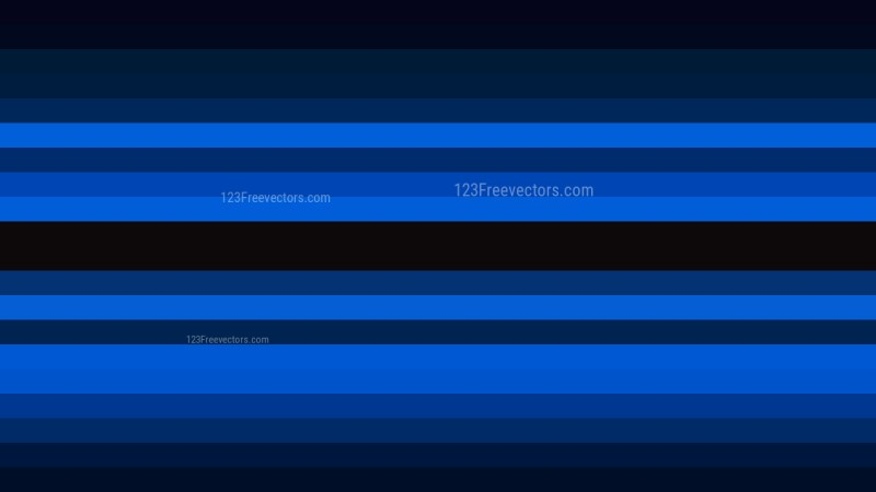 Cool Blue Horizontal Striped Background Image