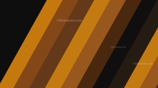 Black and Brown Diagonal Stripes Background Vector Image