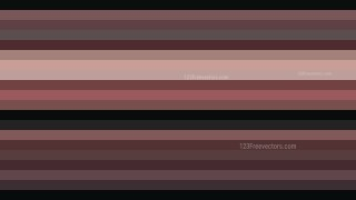 Black and Brown Horizontal Striped Background Vector Illustration