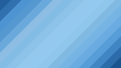 Blue Diagonal Stripes Background Vector