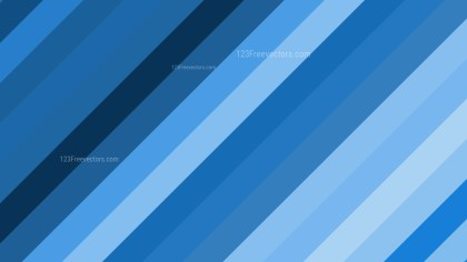 Blue Diagonal Stripes Background Vector Art