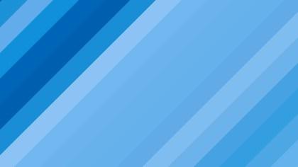 Blue Diagonal Stripes Background Design