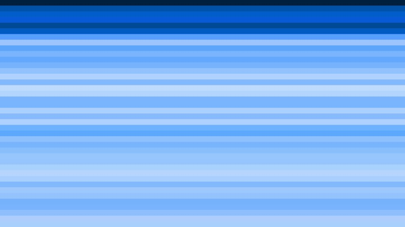 Blue Horizontal Stripes Background Graphic