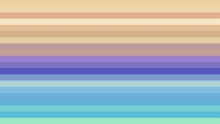 Blue and Beige Horizontal Striped Background Vector Image
