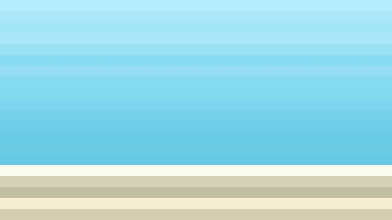 Blue and Beige Horizontal Striped Background Illustrator