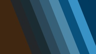 Blue and Brown Diagonal Stripes Background