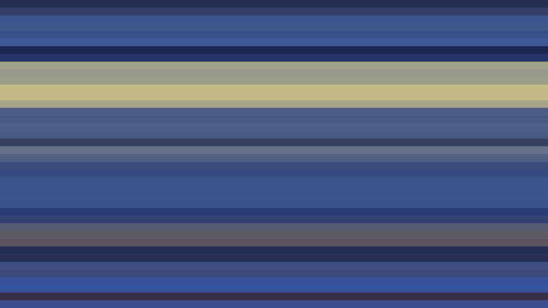 Blue and Gold Horizontal Stripes Background