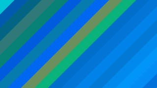 Blue and Green Diagonal Stripes Background Design