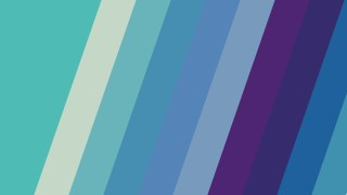 Blue and Purple Diagonal Stripes Background Vector Graphic
