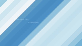 Blue and White Diagonal Stripes Background