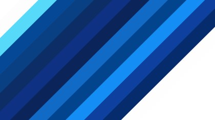 Blue and White Diagonal Stripes Background Vector Graphic