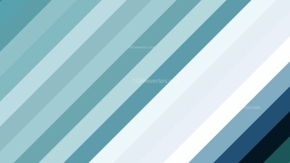 Blue and White Diagonal Stripes Background Vector Image