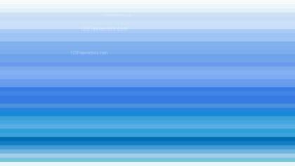 Blue and White Horizontal Stripes Background Vector Illustration