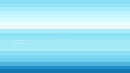 Blue and White Horizontal Striped Background Vector