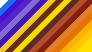 Blue and Yellow Diagonal Stripes Background Vector Illustration