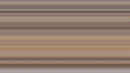Brown Horizontal Stripes Background