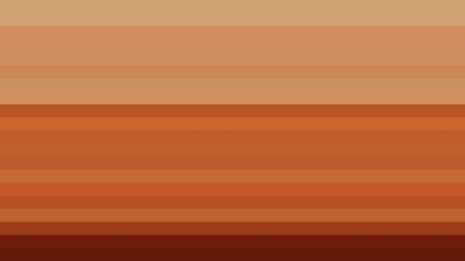 Brown Horizontal Striped Background