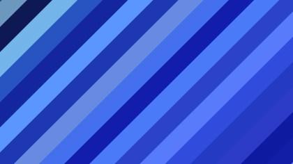 Cobalt Blue Diagonal Stripes Background