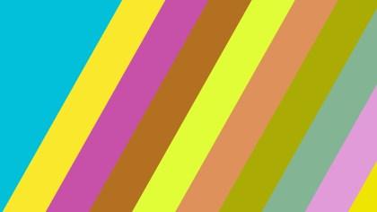 Colorful Diagonal Stripes Background Illustration