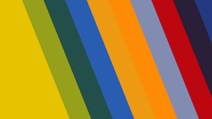 Colorful Diagonal Stripes Background Vector Graphic