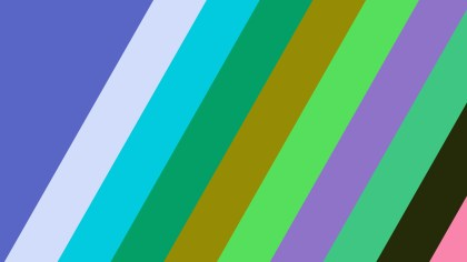Colorful Diagonal Stripes Background Vector Image