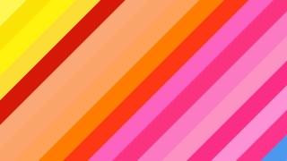 Colorful Diagonal Stripes Background