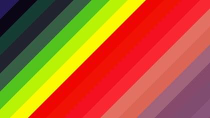Colorful Diagonal Stripes Background Illustrator