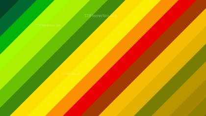 Colorful Diagonal Stripes Background Vector Illustration