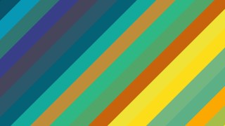 Colorful Diagonal Stripes Background Vector Art