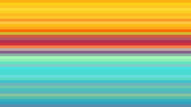 Colorful Horizontal Stripes Background Image