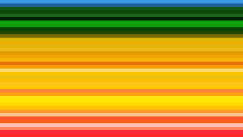 Colorful Horizontal Stripes Background Vector Image