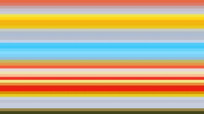 Colorful Horizontal Stripes Background Illustrator