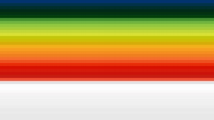 Colorful Horizontal Stripes Background Vector