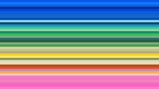 Colorful Horizontal Stripes Background Illustration