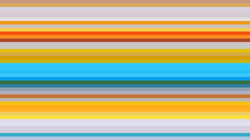 Colorful Horizontal Stripes Background Design