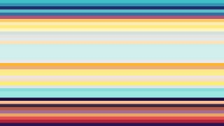 Colorful Horizontal Stripes Background