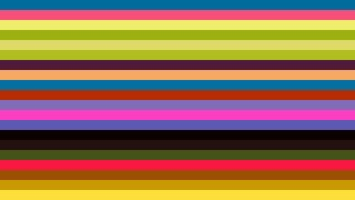 Colorful Horizontal Striped Background Vector Graphic