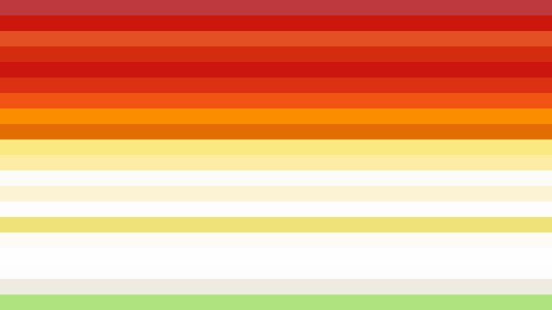 Colorful Horizontal Striped Background