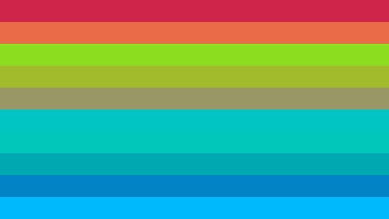 Colorful Stripes Background Illustration